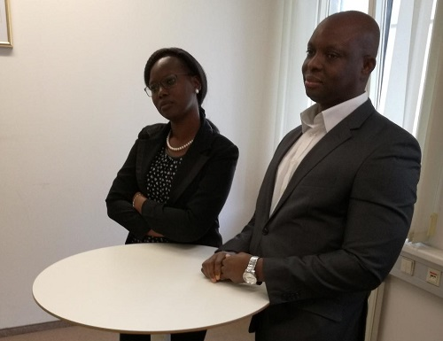 Ambassade du Burkina Faso à Vienne: Cérémonie d'au revoir à la famille Bakyono