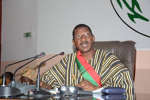 2e session ordinaire de l'Assemblée nationale: Le discours d'ouverture du président, Alassane B. Sakandé