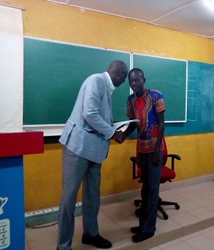 Bourse d'excellence à ESUP Jeunesse: Mohamed Traoré décroche «l'or» d'un montant de 2 840 000 F CFA.
