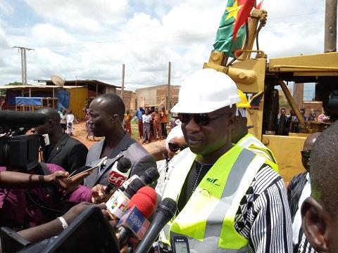 Relance de Bobo-Dioulasso: «Nous avons de grands projets pour la ville de Sya», a confié le PM Paul Kaba Thiéba