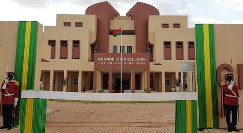 Ordres burkinabè: La Grande Chancellerie emménage à Ouaga 2000