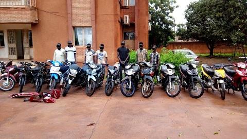 Bobo-Dioulasso: Un réseau de délinquants démantelé