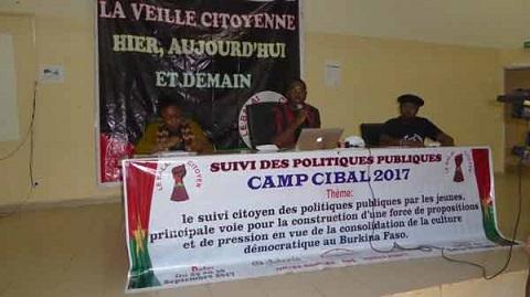 Camp Cibal 2017:  Pour une participation active des jeunes au processus démocratique