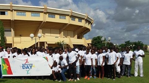 Marathon Day: Le Groupe Bolloré Transport &  Logistics marche pour soutenir l'éducation des enfants