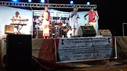 CAMP CIBAL 2017: Un concert meeting pour éveiller la conscience des jeunes