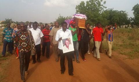 Médias: Justin Coulibaly repose désormais au cimetière de Gounghin