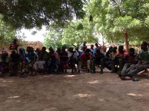 L'ACEA change la manière de penser dans 20 villages de l'épicentre de Dembo