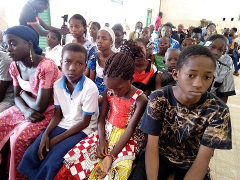 Jumelage Ouaga-Loudun: La délégation de Loudun était avec les enfants parrainés