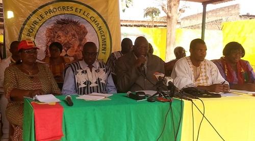 Groupe parlementaire UPC: Une dizaine de députés démissionnent et créent un nouveau groupe parlementaire