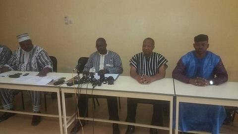 Groupe parlementaire UPC-RD: «Nous ne trahirons jamais l'engagement solennel que nous avons pris de défendre les intérêts de notre Patrie», Député Daouda Simboro
