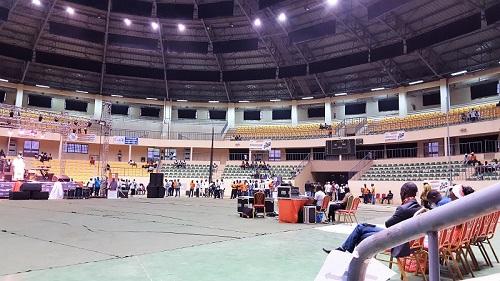 Convention nationale des jeunes du MPP: Le Palais des sports se vide avant le discours de clôture