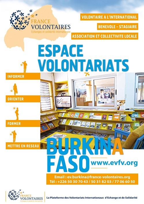 France Volontaires: Un volontariat au service des Objectifs de développement durable au Burkina Faso
