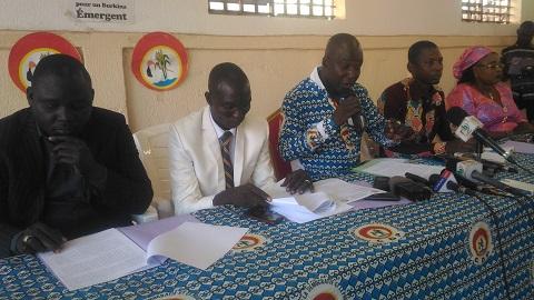 «Le pays va très mal et jamais, le Burkina n'est descendu aussi bas qu'aujourd'hui»,affirme le responsable des jeunes du CDP, Mathias Ouédraogo