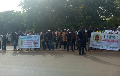 UPC: Des militants réclament leurs mandats aux députés frondeurs