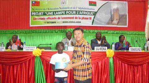 Projet «Une lampe pour l'Afrique»: La 4e phase officiellement lancée