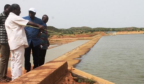 Mise en œuvre du PNDES'EA: Le ministre Ambroise Ouédraogo satisfait des travaux