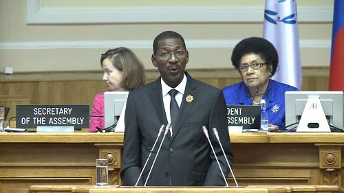 137ème session de l'Union interparlementaire (UIP): Le Burkina Faso s'est adressé aux parlementaires du monde