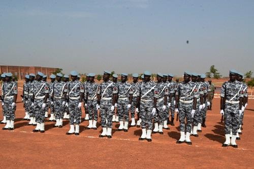 Gardes de sécurité pénitentiaire: La promotion «Lassané Ouédraogo» prête pour servir