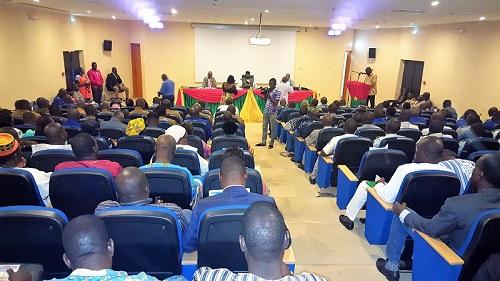 Forum régional du centre sur la sécurité: Voici les thérapies des forces vives