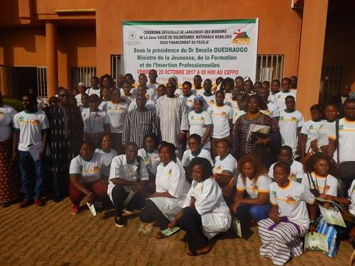 Programme de volontariat 2017: La deuxième vague prête à servir