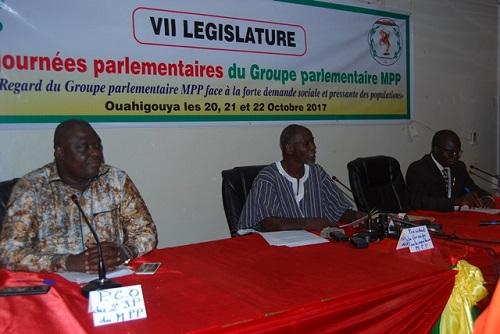 Attentes des populations burkinabè: Le groupe parlementaire MPP à la recherche des solutions