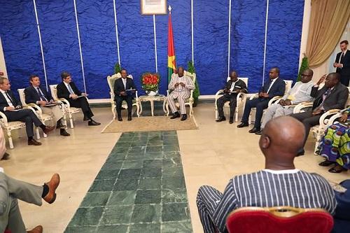 Opérationnalisation du G5 Sahel: Une délégation du Conseil de sécurité de l'ONU s'informe au Burkina