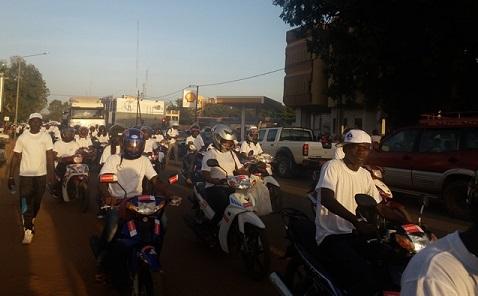 72 heures des assureurs du Burkina: Un cross populaire pour commencer