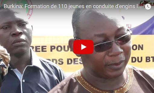 Mines et BTP: 110 jeunes formés à la conduite d'engins lourds