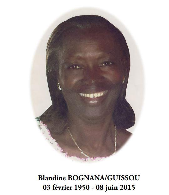 In memoria: Blandine BOGNANA/GUISSOU
