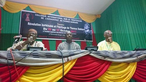 Colloque du Balai citoyen sur le 30e anniversaire de Thomas Sankara: Témoignages et analyses à flot sur le héros de la révolution burkinabè