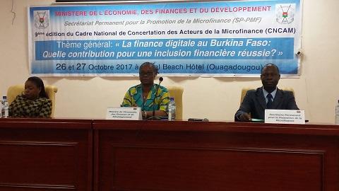 Cadre de concertation des acteurs de la microfinance: La finance digitale au cœur des réflexions de la 9e édition