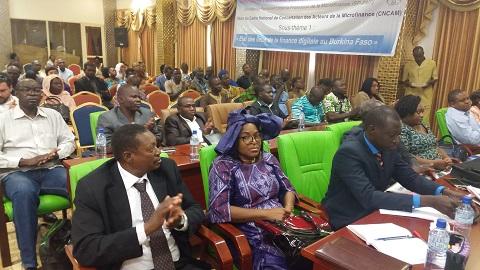 Clôture du Cadre de concertation des acteurs de la microfinance: Des recommandations fortes pour une meilleure digitalisation de la finance au Burkina Faso
