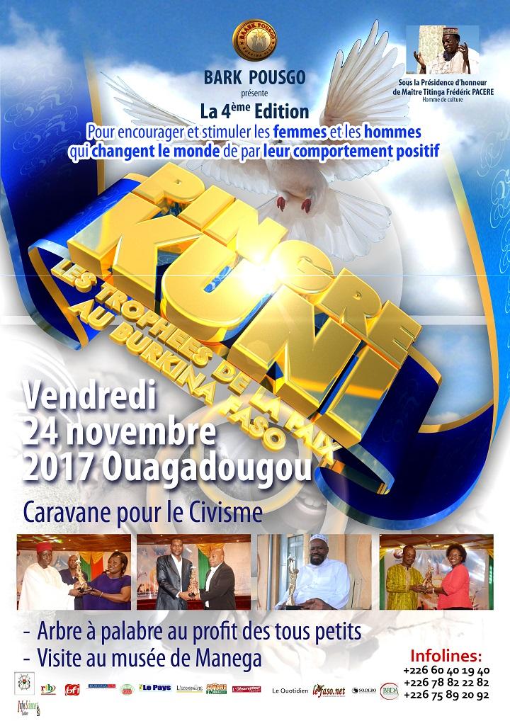 PINGRE KUNI: Les trophées de la paix au Burkina Faso