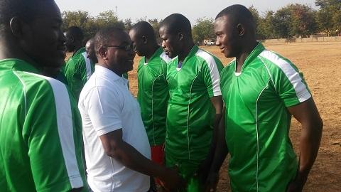 57e anniversaire des Forces armées nationales: Communion entre militaires et civils autour d'un match de football dans la cité de Diaba Lompo