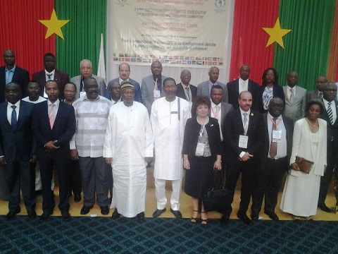 Union parlementaire africaine: Ouagadougou abrite la 71e session dans un contexte plein de défis