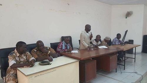 Djibo: Simon Compaoré et Jean Martin Coulibaly explorent les moyens pour une reprise des cours