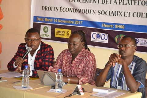 Défense des droits économiques, sociaux et culturels: Une plateforme lancée