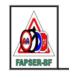 Fédération des Associations  de la Sécurité Routière au Burkina Faso           (FAPSER-BF)