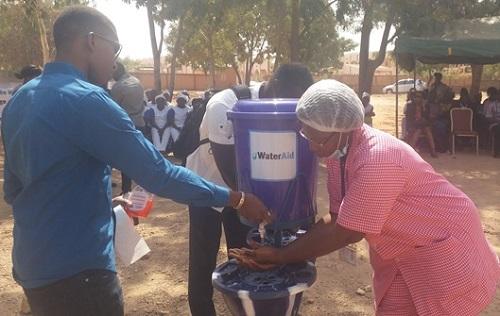 Célébration de la journée mondiale du lavage des mains: «Un départ sain: eau, assainissement et hygiène pour un départ dans la vie»