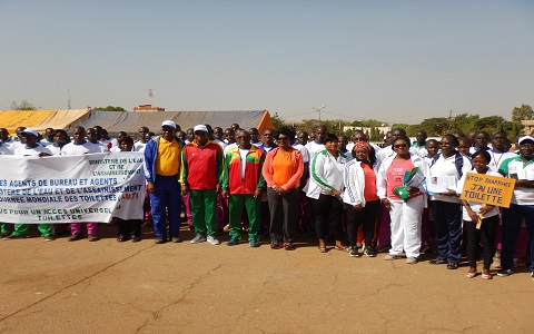 Journée mondiale des toilettes: Sika Kaboré invite à sauver la dignité de la jeune fille et de la femme