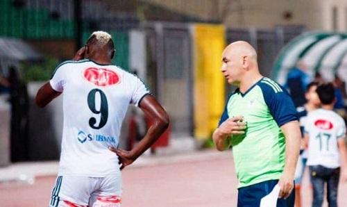 Football: Aristide Bancé fâché contre son club, l'avocat en pourparlers