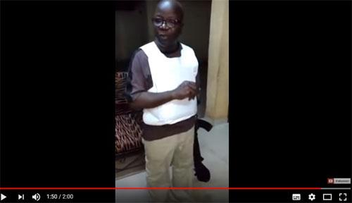 Vidéo «Tranquilos»: Comment Simon Compaoré s'est fait piéger