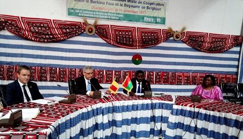 Commission mixte Burkina - Royaume de Belgique: Les experts en discussion pour entériner le programme de coopération 2018-2022