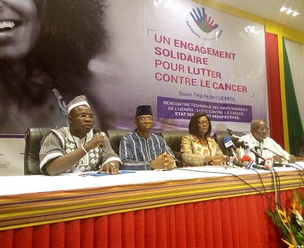 «Dépistées à temps, la guérison des femmes atteintes du cancer du sein ou du col de l'utérus est possible», dixit Sika Kaboré, première Dame du Faso
