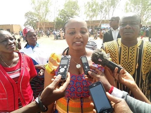 «Aider une femme à être autonome, c'est aider un foyer, aider toute une nation», maire de l'arrondissement 4 de Ouagadougou, Issa Anatole Bonkoungou