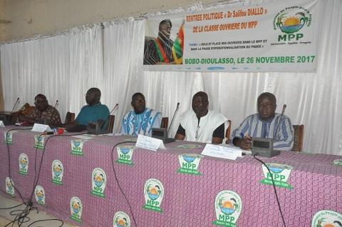 Rentrée politique de la coordination ouvrière du MPP: Un cadre pour murir les idéaux du parti dans le cadre du PNDES