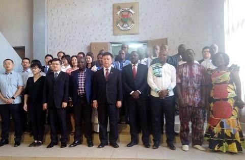Burkina Faso-Taïwan: Les experts se prêtent à l'exercice d'évaluation à mi-parcours du programme de coopération 2017-2018