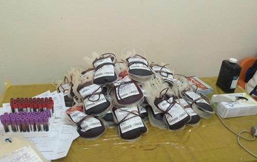 25 ans de la CAMEG: Les agents donnent leur sang pour sauver des vies