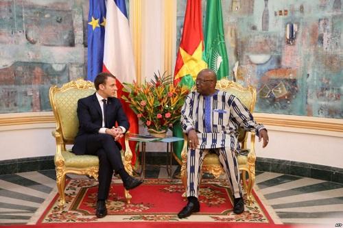 Communiqué conjoint de la visite officielle au Burkina Faso du Président de la République française