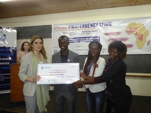 Forum mondial de l'eau: De jeunes Africains à l'école du Secrétariat international de l'eau(SIE)